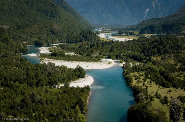 rio manso aerea